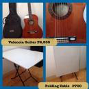 Guitar Second Hand Valencia With Ashton Case